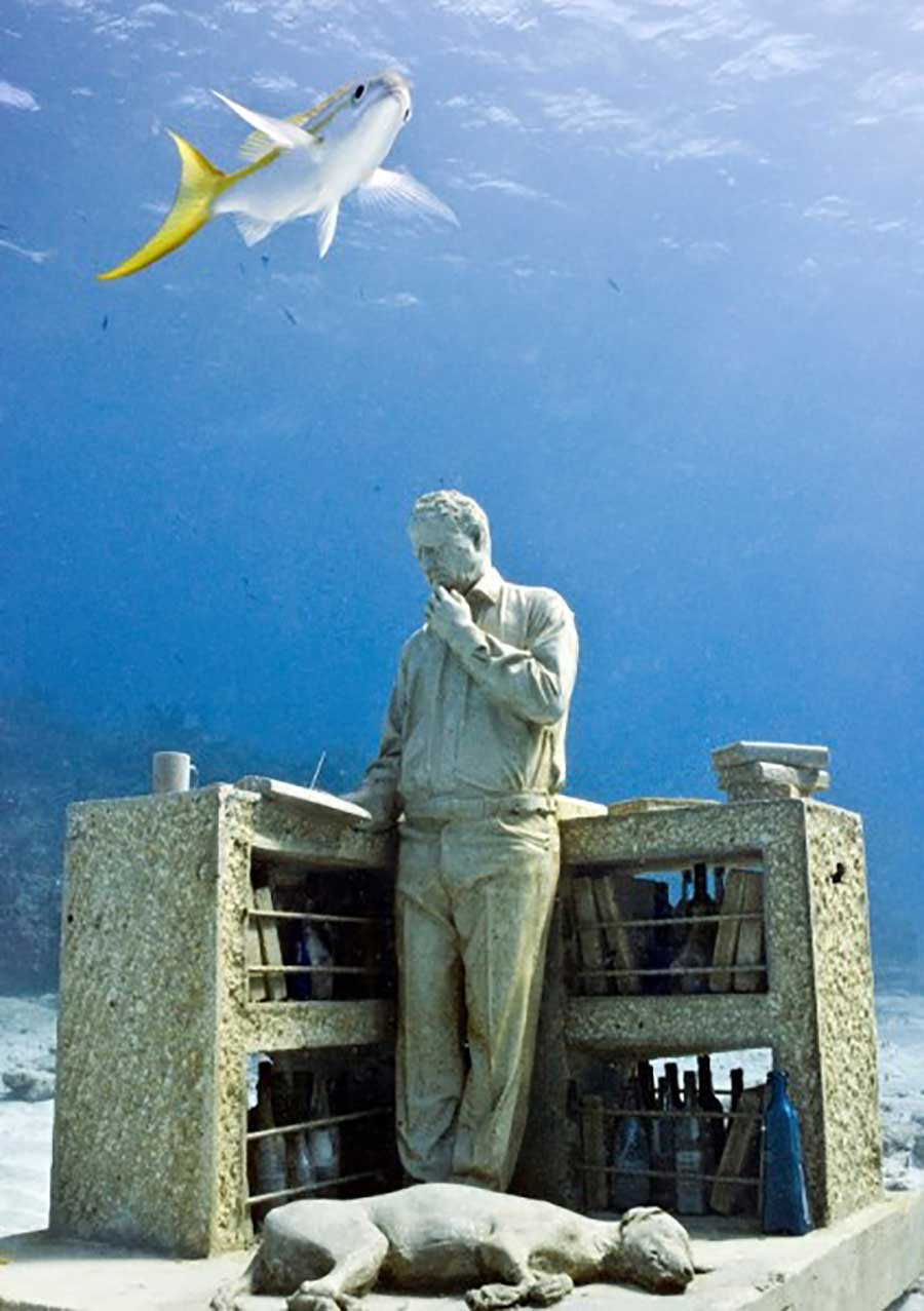 The worlds most famous underwater sculpture museum (1)