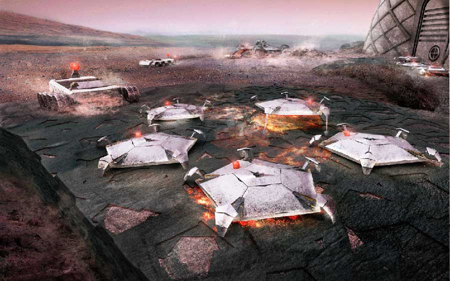 foster and partners mars habitat competition NASA mihanpost  (4)