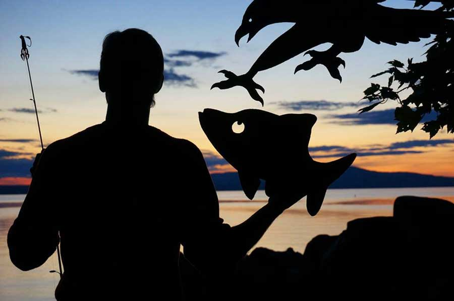 My Cardboard Cutouts Come To Life In Magical Sunset Silhouettes (11)