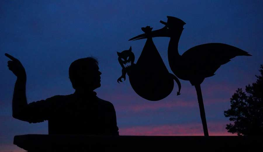 My Cardboard Cutouts Come To Life In Magical Sunset Silhouettes (30)