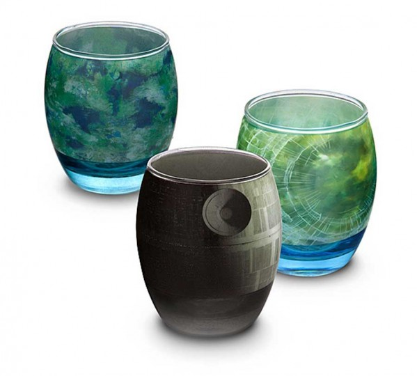 Elegant Glassware Modeled After Star Wars Planets (5)