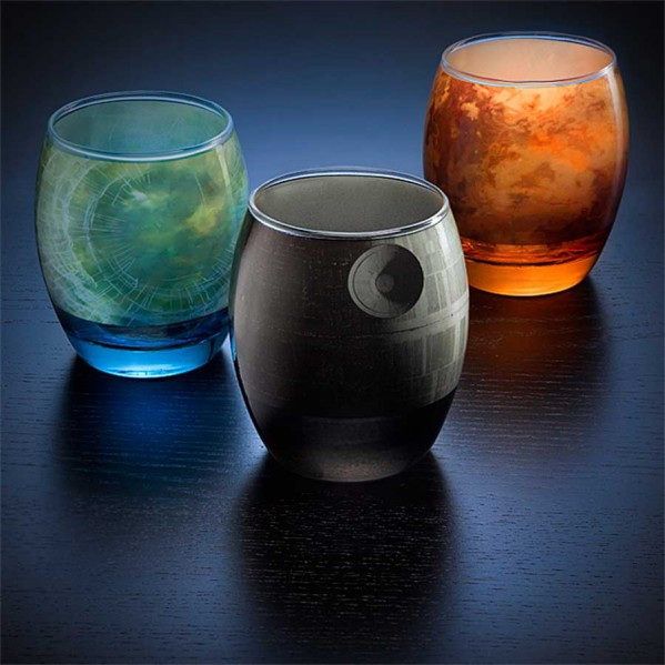 Elegant Glassware Modeled After Star Wars Planets (7)