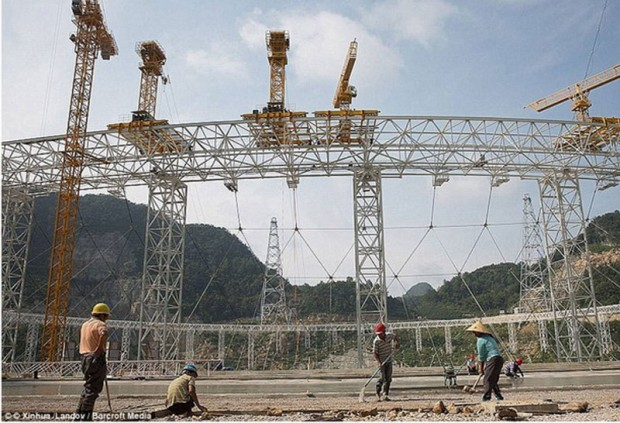 Making the largest single- aperture radio telescope in the world, China (4)