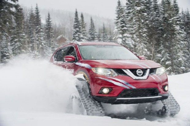 Nissan  kits for cars to snowmobiles (3)