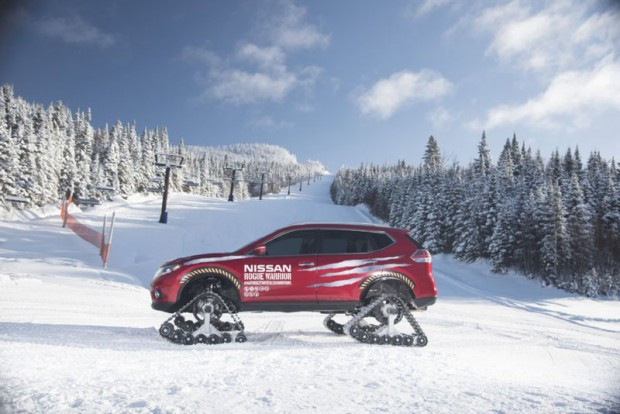 Nissan  kits for cars to snowmobiles (4)