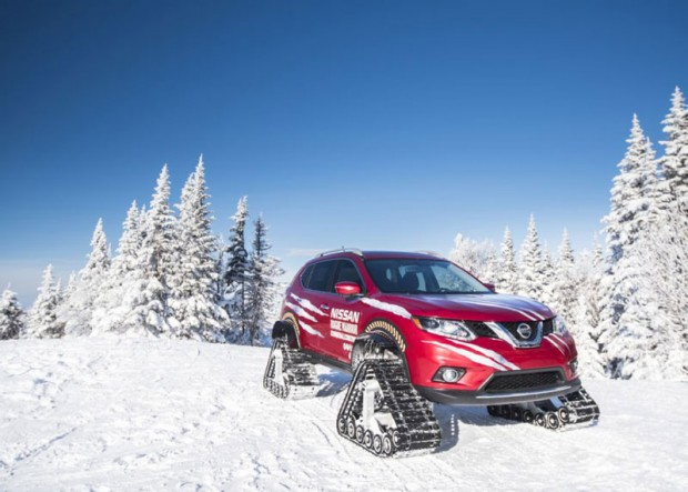 Nissan  kits for cars to snowmobiles (7)