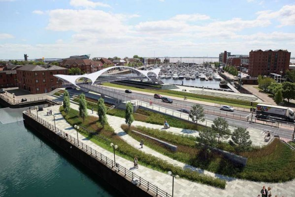 hull approves princes quay bridge, designed by mcdowell