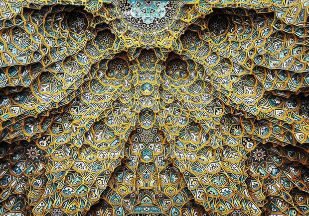 Iranian Mosque Ceilings (1)