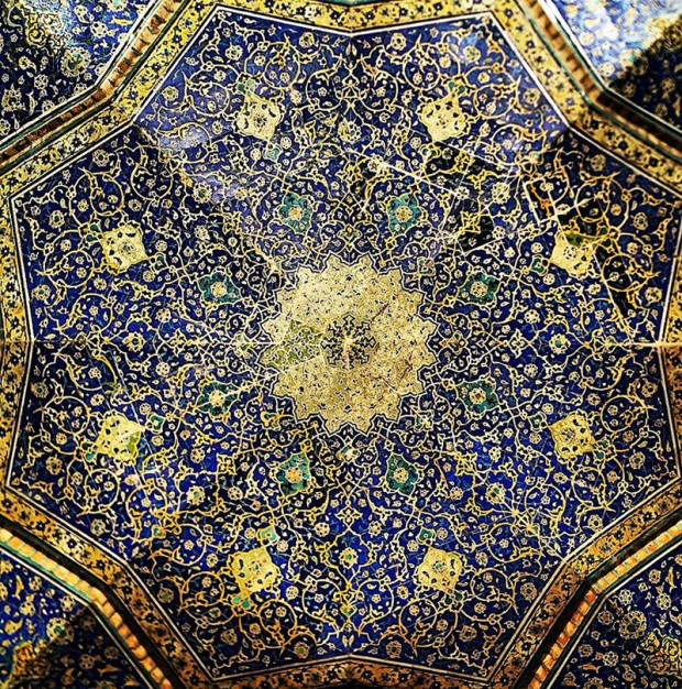Iranian Mosque Ceilings (10)