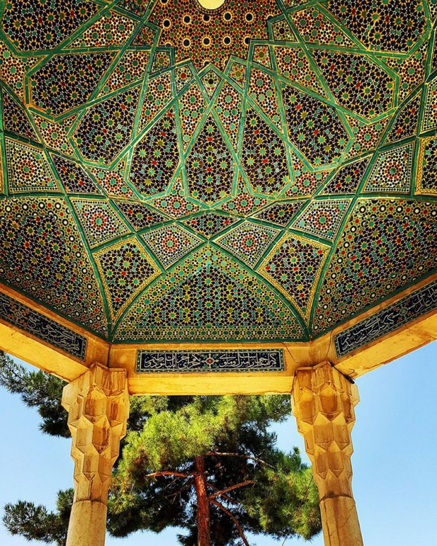 Iranian Mosque Ceilings (11)