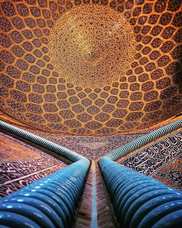 Iranian Mosque Ceilings (14)