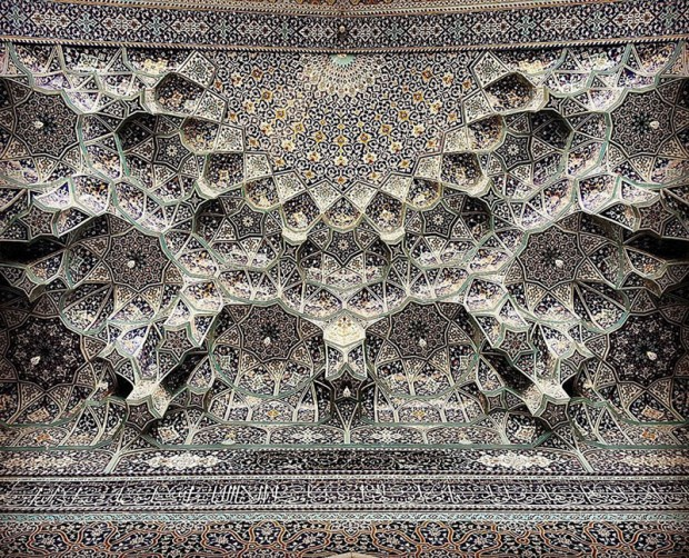 Iranian Mosque Ceilings (15)