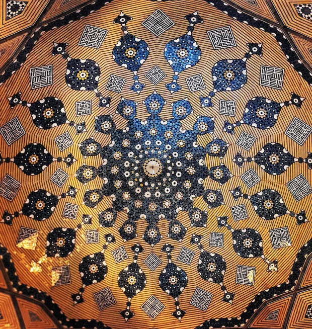Iranian Mosque Ceilings (16)