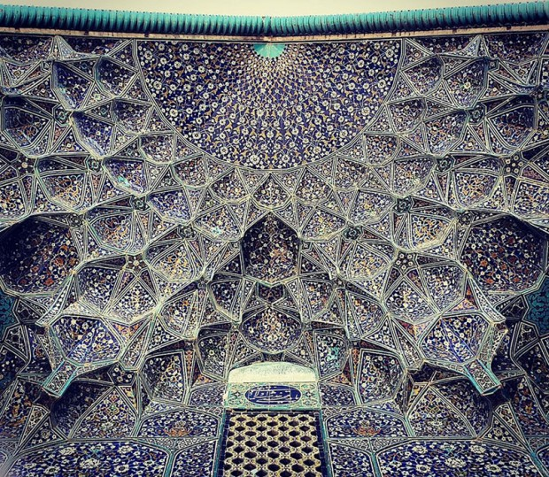 Iranian Mosque Ceilings (17)