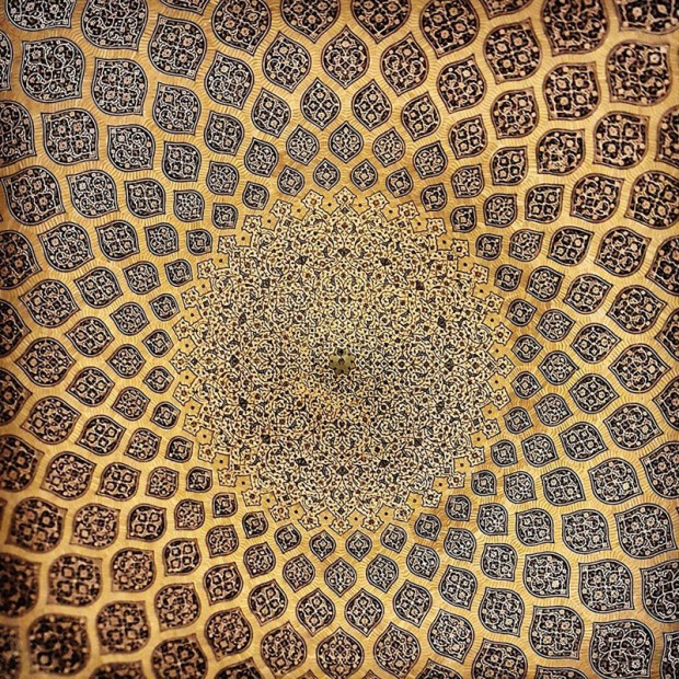 Iranian Mosque Ceilings (2)