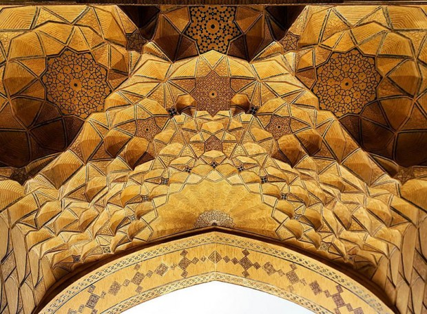 Iranian Mosque Ceilings (3)