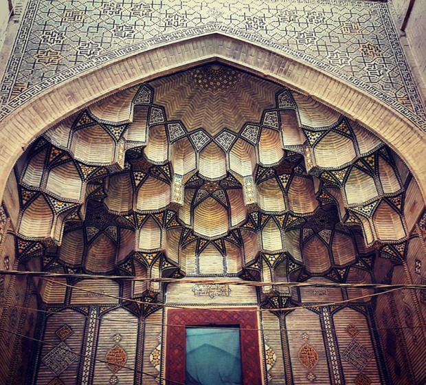 Iranian Mosque Ceilings (4)