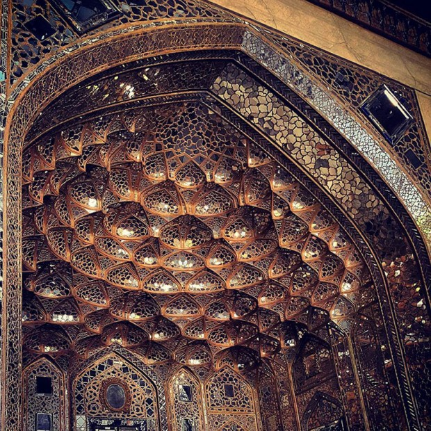 Iranian Mosque Ceilings (5)